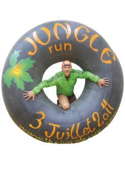 Fabien CHOLLEY, organisateur de la Jungle Run le 03 juillet 2011 mais aussi d'Indiana Saône et de l'Aventure Sénégalaise